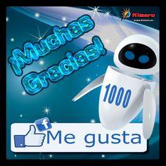 1000 Me Gusta