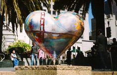 San Francisco heart.