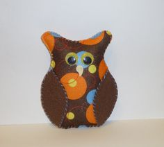 Brown owl plush fiber art doll woodland home decor gift for an owl lover by HoppingTheFence, $12.00 https://www.etsy.com/shop/HoppingTheFence