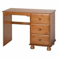 Dovedale single pedestal dressing table http://solidwoodfurniture.co/product-details-pine-furnitures-1792-dovedale-single-pedestal-dressing-table.html