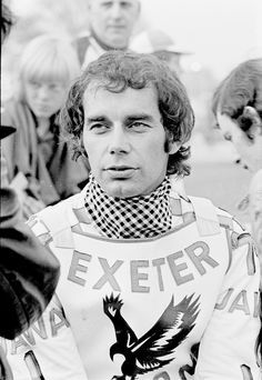 Ivan Mauger, riding for Exeter Falcons at Swindon 1975