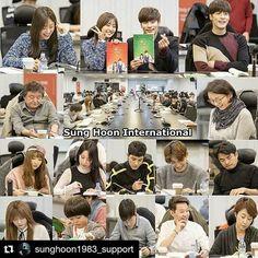 "#Repost @sunghoon1983_support ・・・ [애타는 로맨스] 11.11.2016 #SUNGHOON & drama TEAM ""My Secret Romance"" Script Reading  대본 리딩 내부 현장 공개 .... [출처 source] #가딘미디어 #Godinmedia naver blog Thank you very much ..... Link >>> http://blog.naver.com/godinmedia/220860119419 ..... #sunghoon #성훈 #배우성훈  @sunghoon1983  파이팅! Fighting!! #ソンフン #방성훈 #成勋 #成勛 #sunghoon1983  #sunghoon1983_support #애타는로맨스 #MysecretRomance"