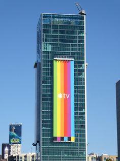 Apple TV billboard
