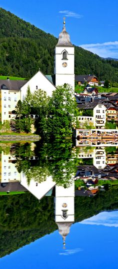 The beautiful St. Wolfgang in Lake district near Salzburg Austria    |    30+ Truly Charming Places To See in Austria