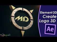 Create a 3D Logo - Element 3D