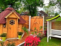 Speakman Gates to finish off a perfect garden.