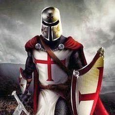 Knight Tattoo, Crusader Knight, Christian Warrior, Armadura Medieval, Smoke Art, Medieval Knight, Suit Of Armor, Helmet Design, Freemasonry