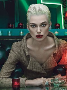 W Magazine - Time is on Their Side - four actresses inhabit four decades of fashion | Keira Knightley (2000s)