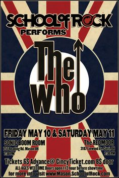 The Who Concert Poster Rock Posters, Band Posters, Event Posters, Music Posters, Rock Festival, Concert Rock, Vintage Concert Posters, Jazz Poster, Concert Flyer