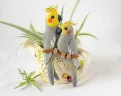 Tania from Ukraine creates these lovely needle felted brooches from natural merino wool. She has made...