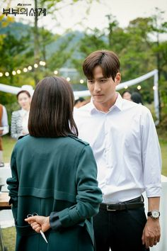 The World of the Married (부부의 세계) - Drama - Picture Gallery @ HanCinema :: The Korean Movie and Drama Database Tae Oh, Married Quotes, Kim Yuna, Drama Korea, Korean Actors, Korean Dramas, Married Life, Couple Goals, Fangirl