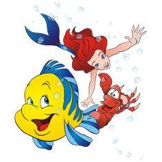 Disney Little Mermaid Cartoon png Clip Art Images On A Transparent Background Little Mermaid Cartoon, Little Mermaid Baby, Disney Little Mermaids, Manga Disney, Disney Art, Walt Disney, Ariel Images, Images Disney, Ariel And Flounder