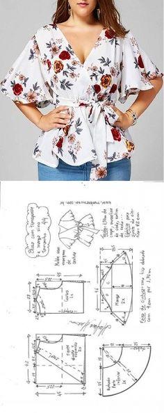 Blouse Patterns - craftIdea.org