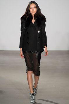 Leather and Chiffon