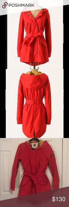 Selling this Daughters of the Liberation Heritage Red Raincoat on Poshmark! My username is: sweetlouie20. #shopmycloset #poshmark #fashion #shopping #style #forsale #Anthropologie #Jackets & Blazers
