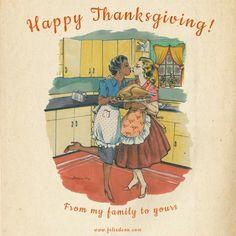Lesbian thanksgiving