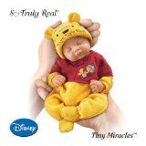 Fiorenza Biancheri Tiny Miracles Winnie The Pooh Night, Night Pooh Realistic Sleeping Baby Doll With Sleeper by... by Ashton Drake  http://lifelikerealisticbabydolls.blogspot.com/ #Life_Like_Baby_Dolls #Baby_Dolls_that_Look_Real #Realistic_Baby_Dolls #Living_Dolls #Dolls