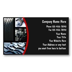 Orange gear initial automotive repair mechanic business card unique automotive business cards reheart Choice Image