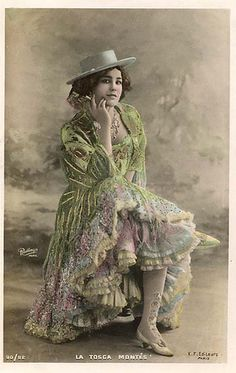 Vintage Postcard by pink petticoats, via Flickr