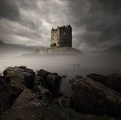 Stalker Castle, Scotland- 25 Beautiful Castles From Around The World- want to visit them all Scotland Castles, Scottish Castles, Scotland Top, Beautiful Castles, Beautiful Places, Medieval Castle, Castle Ruins, Abandoned Places, Abandoned Castles