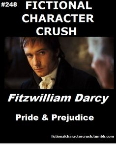 #248 - Fitzwilliam Darcy from Pride & Prejudice 07/08/2012