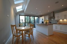 Kitchen Extensions on Simply Extensions Kitchen Extensions Loft Conversions London Kitchen Extension, Home, Home Kitchens, Kitchen Design, Kitchen Inspirations, Concrete Kitchen Floor, New Homes, Kitchen Interior, House Interior