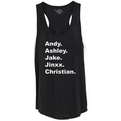 GLITZ Black Veil Brides Racerback Tank Top – GLITZ Apparel