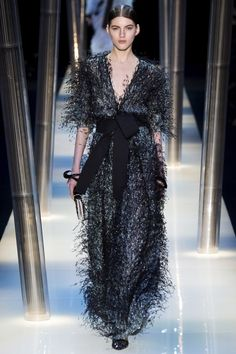 See the Giorgio Armani Prive spring/summer 2015 couture collection