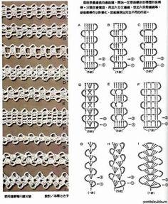 Брюггское кружево / Вязание крючком / Вязание крючком для начинающих