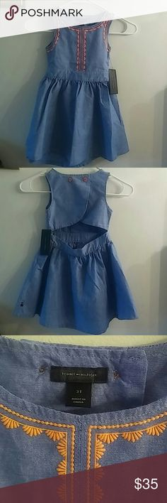 NWT - Tommy Hilfiger toddler dress size 3T Tommy Hilfiger toddler dress size 3T Also available in size 2T & 4T Tommy Hilfiger Dresses Casual