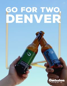 Broncos are looking good! Let's go for round two at the Big Game, Denver!