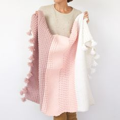 Are you looking for the perfect crochet blanket pattern. The Ombre Textured crochet afghan blanket uses different crochet stitches to create stunning texture. Crochet For Beginners Blanket, Baby Blanket Crochet, Crochet Blankets, Afghan Blanket, Baby Blankets, Afghan Crochet Patterns, Crochet Stitches, Crochet Afghans, Crochet Edgings