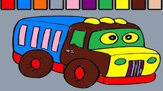 Araba Boyama Sayfa | Çocuklar için Boyama