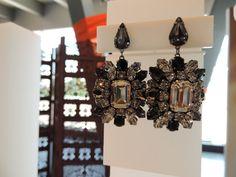 Swarovski by Shourouk pierced earrings.