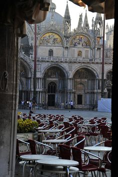 St. Mark's in the early morning Venice Italy