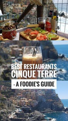 Best Restaurants in Cinque Terre Italy