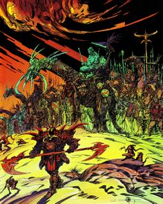 "Philippe Druillet - ""Salaambô"" - Carthage Chapter 2"