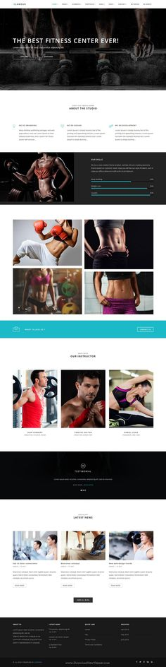 GLAMOUR is powerful multi page and one page #Drupal Theme for multipurpose #website with 60+ stunning homepage layouts. #fitness Download Now!