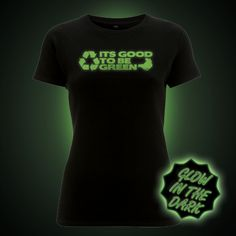 Glow in the dark t-shirts unique designs from Block t-shirts. Quick charging glow printed onto high quality ethical t-shirts Dinosaur Gifts, The Darkest, Glow, T Shirts For Women, Prints, Mens Tops, Shopping, Clothes, Ideas