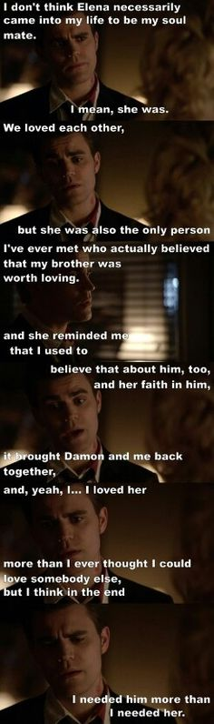 "#TVD 6x22 ""I'm Thinking Of You All The While"" - Stefan"