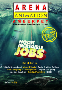 Be the part of  media industry and  hook the creative job