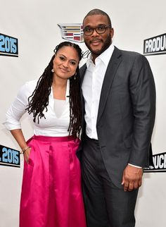 Ava DuVernay Photos Photos - Filmmaker & Founder of AFFRM Ava DuVernay (L) and Chairman of The Tyler Perry Company Tyler Perry attend the 7th Annual Produced By Conference at Paramount Studios on May 31, 2015 in Hollywood, California. - 7th Annual Produced by Conference - Day 2