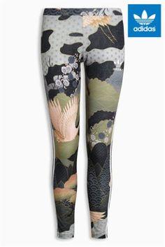 Multi adidas Originals By Rita Ora Printed Legging