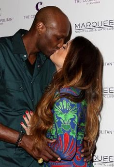 Lamar and Khloe