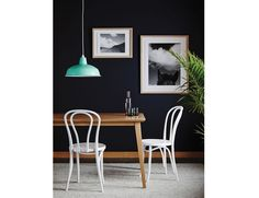 Natural Jutland Solid Oak 180 x 90cm Dining Table by Mads Johansen for TON