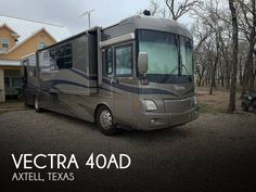 2004 Winnebago Vectra 40AD, Class A - Diesel RV For Sale in Axtell, Texas   RVT.com - 175156 Diesel For Sale, Rv For Sale, Roof Access Ladder, Roof Coating, Air Brake, Surround Sound Systems, Porch Lighting, Heat Pump, Diesel Engine