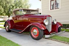 1932 Ford Roadster Maroon