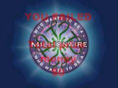 Who Wants To Be A Millionaire Interactive YouTube Game