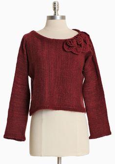 Pemberton Cropped Sweater