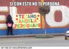 Pidiendo perdón en el máximo level @ www.elmemeno.com